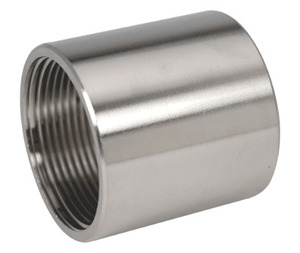 "Gibson Stainless & Specialty CPL100 1"" Stainless Steel Coupling"