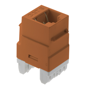 ON-Q WP3460-OR CAT 6 RJ45 T568 A/B CNCTR ORG (M20)