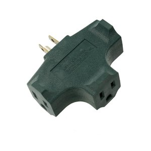 Leviton 694-GRN HEAVY DUTY TRIPLE ADAPT