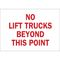 25890 TRAFFIC SIGN: INDUSTRIAL