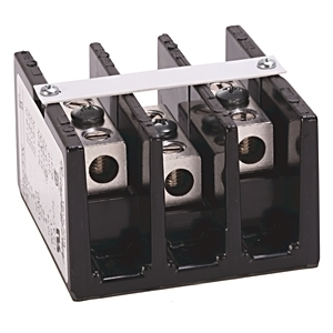 Allen-Bradley 1492-50X Power Distribution Block, 3P, 115A, 1 In/1 Out, #2 - #14AWG