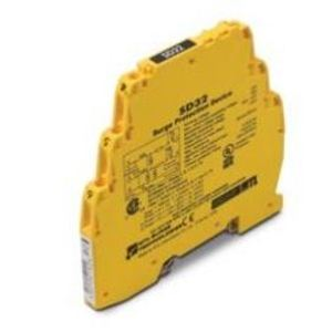 Cooper Crouse-Hinds SD32R Terminal Block, Surge Protector, 32VDC, 22VAC, 400mA, High Bandwidth