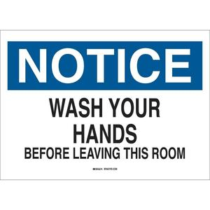 25153 PERSONAL HYGIENE SIGN