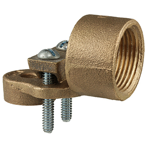 "Dottie HUB100L Conduit Grounding Hub, 1"", Bronze, 10 - 3/0 AWG"