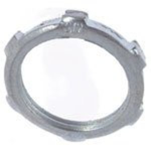 "Thomas & Betts LN-103 Conduit Locknut, 1"", Steel"