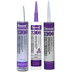 Geocel GC66103 Construction Tripolymer Sealant, 10.3OZ, Black
