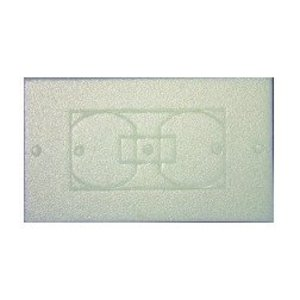 Dottie WPI100 Insulated Plate Gasket, Duplex/GFCI/Toggle Combination - 1-Gang