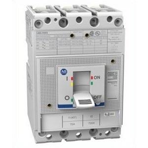 Allen-Bradley 140G-H2C3-C60 Circuit Breaker, Molded Case, Frame H, 60A, 3P, 600VAC