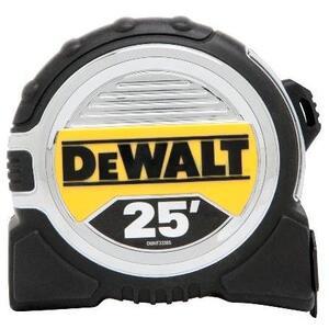 DEWALT DWHT33385L Tape Measure, 25'