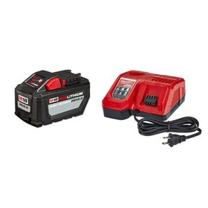 Milwaukee 48-59-1200 M18™ Redlithium High Output HD12.0 Battery Pack w/ Rapid Charger