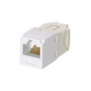 Panduit CJE688TGWH Mini-Com Corrosive Resistant Module, Cat