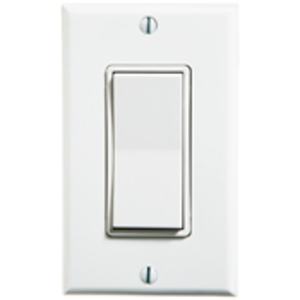 Leviton WSS0S-S9W Single Rocker Sw White