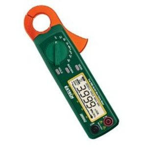 Extech 380942 AC/DC Clamp on Meter, Miniature, True RMS