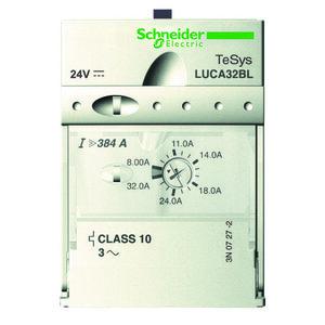 Square D LUCA32FU Starter, Manual, Control Unit, 8-32A, 600VAC, 110-240VAC Coil