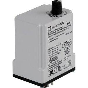 Square D 9050JCK12V20 TIMER RELAY 240VAC 10AMP +OPTIONS