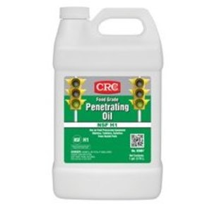 CRC 03087 1 GAL FOOD GRADE PENETRATING OIL LUBRICANT