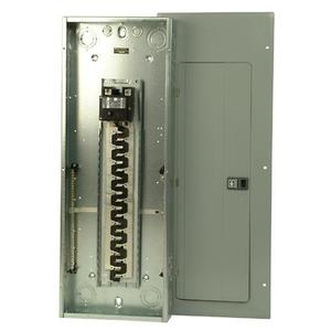 Eaton BR4040B200 Load Center, Main Breaker, 200A, 120/240V, 1P, 40/40, NEMA 1