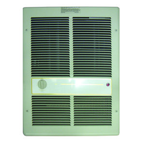 TPI HF3316TRP Commercial Wall Heater, Fan Forced, 4000/3000W, 240/208V, Ivory