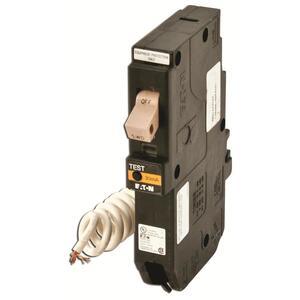 Eaton CHFEP120 Breaker, 20A, 1P, 120/240V, 10 kAIC,CH Equipment Protector W/Flag