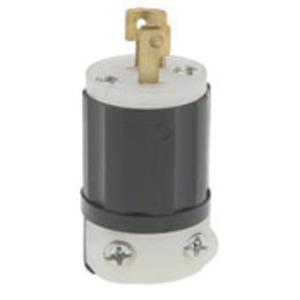 ML3-P BLACK PLUG MID LK 3P3W 15A125/250V