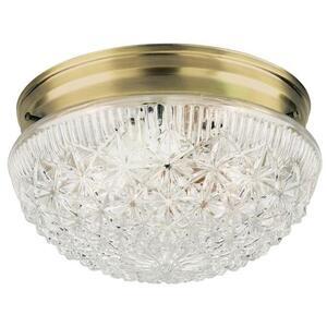 Westinghouse Lighting 6661000 WEST 2LT AB FIN W/CL