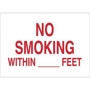 25136 NO SMOKING SIGN