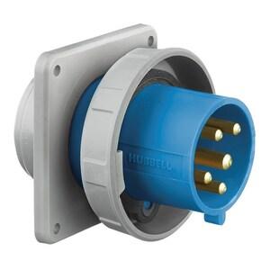 Hubbell-Wiring Kellems HBL5100B9W IEC,INLET,4P5W,100/125A 120/208V,4X/69K