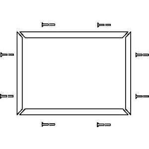 Allen-Bradley 440F-K2022 CHANNEL PERIMETER TRIM KIT GUARDMASTER