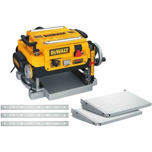"""DEWALT DW735X 13"""" PLANER w/EXTRA KNIVES AND TABLES"""