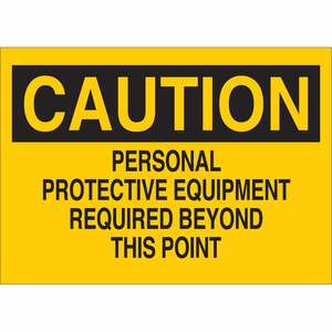 25205 PROTECTIVE WEAR SIGN