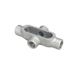 "OZ Gedney X50A Conduit Body, Type: X, Size: 1/2"", Form 85, Aluminum"