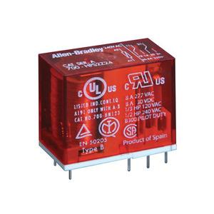 Allen-Bradley 700-HPS2Z12 12V DPDT PCB Style 2P Safety Relay