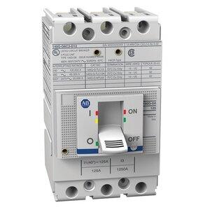 Allen-Bradley 140G-G2C3-C80 Breaker, Molded Case, 80A, 25kA, 600VAC, G2 Interrupting Code
