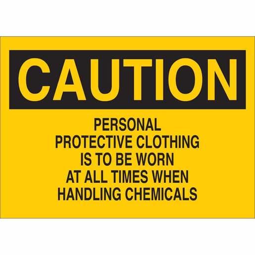 22285 CHEMICAL & HAZARDOUS MATERIAL SIGN