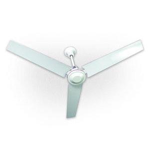 """TPI IHR56R Ceiling Fan, Reversible, White, Metal, 56"""", 120 V"""