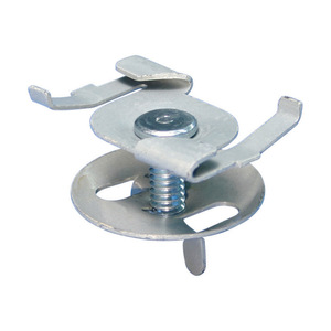 "nVent Caddy 4G16 Fixture Support Clip, Twist-On, 1/4""-20 Stud, 5/8 Length, 5/8"" Tee"