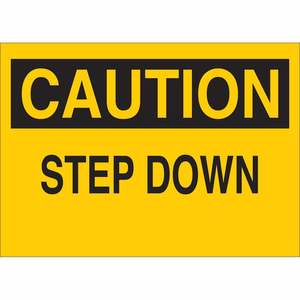 22930 FALL PROTECTION SIGN