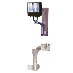 Atlas Lighting Products 500-006G Wood Pole Flood Lighting Bracket