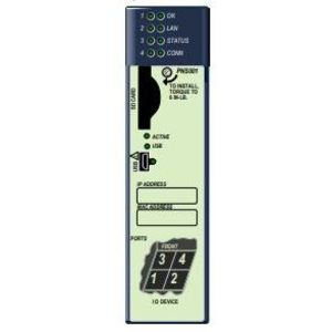 Emerson IC695SPC100 Transceiver, Small Form, Pluggable, 10/100/1000Base-T, Copper, SFP