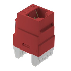 ON-Q WP3460-RE CAT 6 RJ45 T568 A/B CNCTR RED (M20)