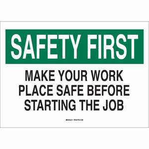 25320 SAFETY SLOGANS SIGN