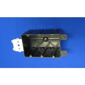 """Allied Moulded P-643HQT Switch/Outlet Box with Bracket, Depth: 3-9/16"""", 3-Gang, Non-Metallic"""