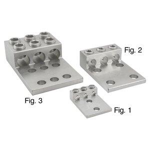 Ilsco T3A4-600N AL MEC T3-600 (3)600-2 (4)9/16-1-3/4T UL