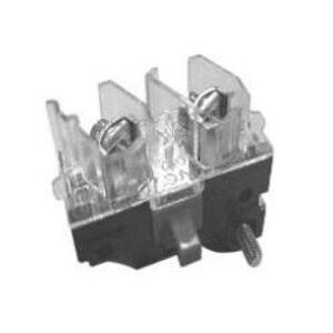 GE CR104PXC01L Pilot Device, Contact Block, 1NCLO, White, IP10