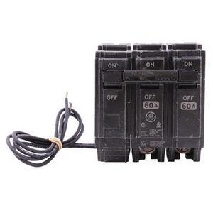 GE Industrial THQL2160ST1 Breaker, 60A, 2P, 120/240V, 10 kAIC, Shunt Trip 120VAC