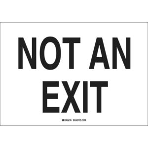 22501 DIRECTIONAL & EXIT SIGN
