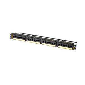 Ortronics PHD6AU24 24 Port Flat Panel, Cat 6A