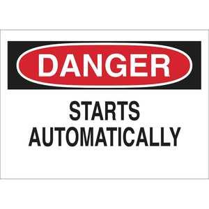 23031 MACHINE & OPERATIONAL SIGN
