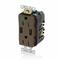 T5632-HG BRN COMB DPLX RECPT/USB HG CHGR