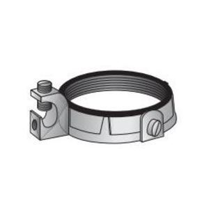 """OZ Gedney IBC-100L-20BC Grounding Bushing, 1"""", Threaded, Insulated, Malleable Iron"""